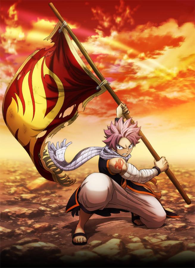 Die letzte Anime TV-Serie zu Fairy Tail startet in Japan im Oktober 20