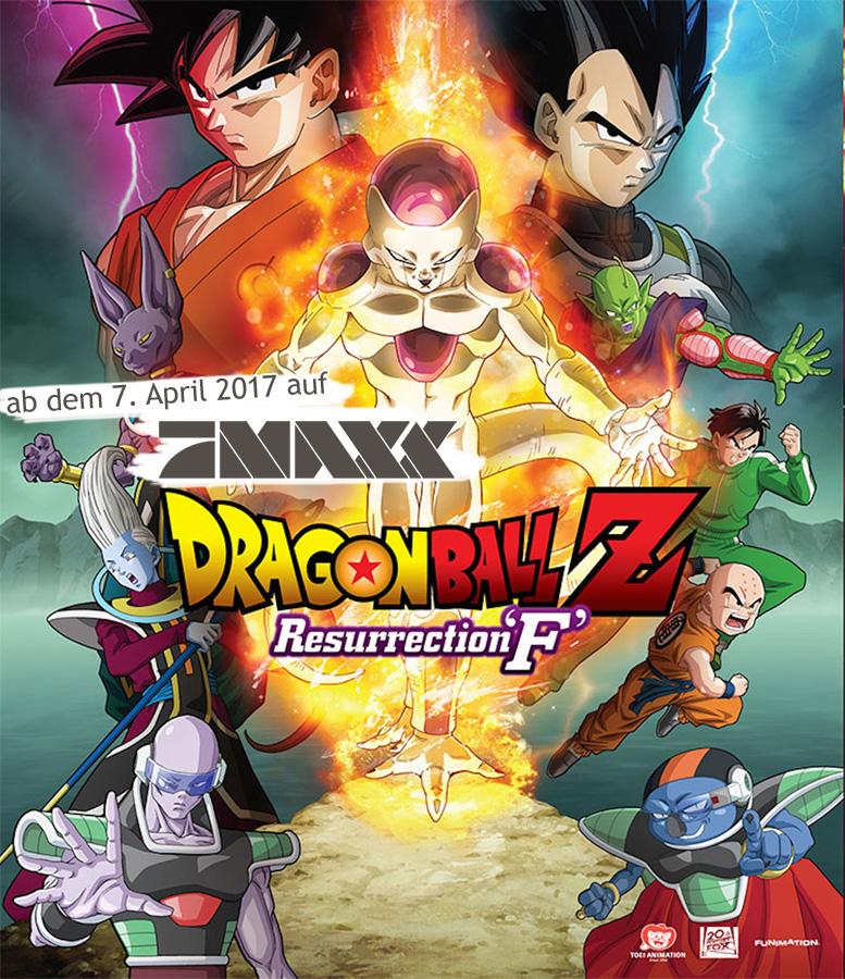 ProSieben MAXX zeigt am 7. April 2017 den neuesten DBZ Film Dragonball