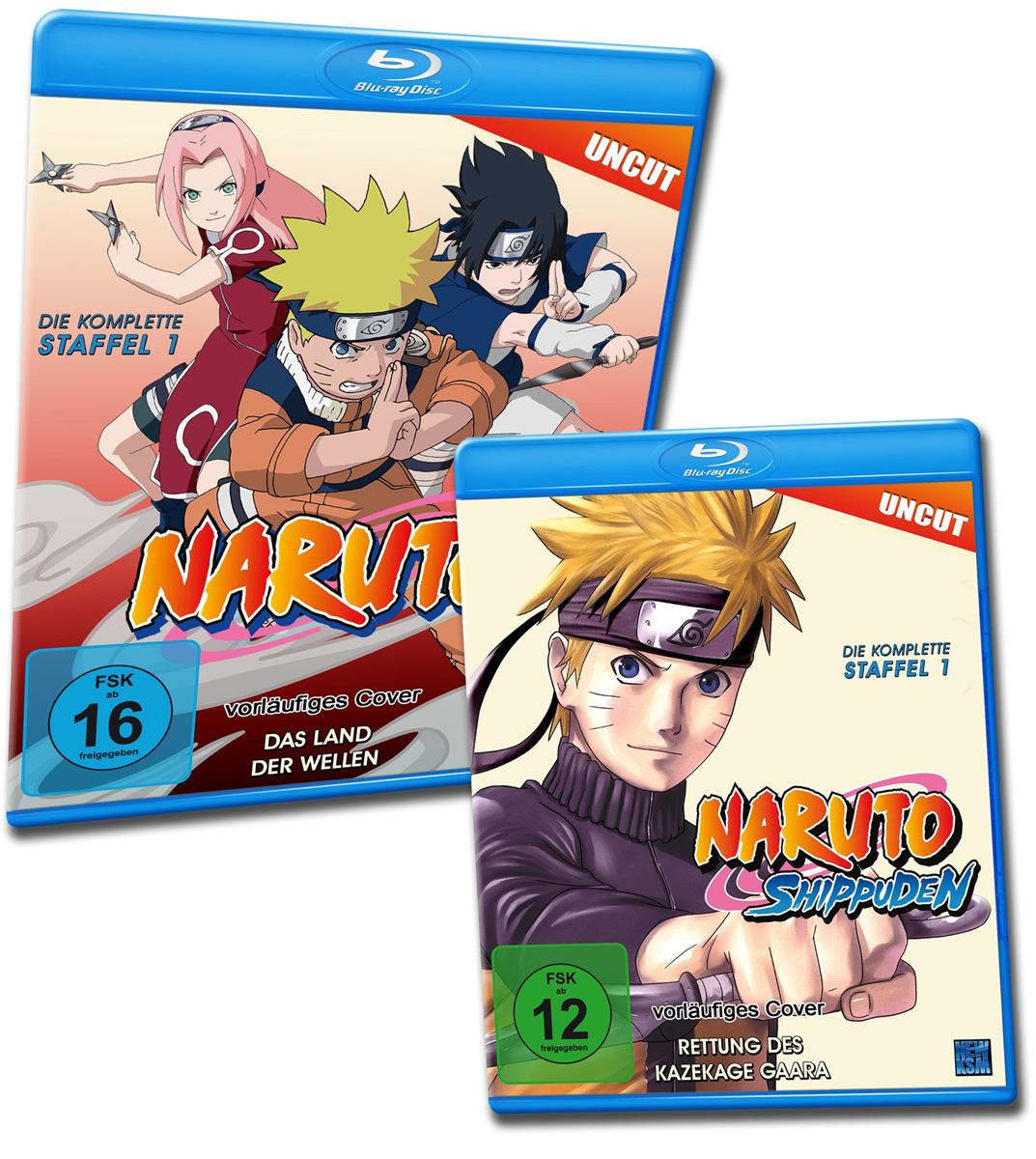 KSM veröffentlicht alte Anime Serie erneut auf Blu-ray. Auch Naruto u