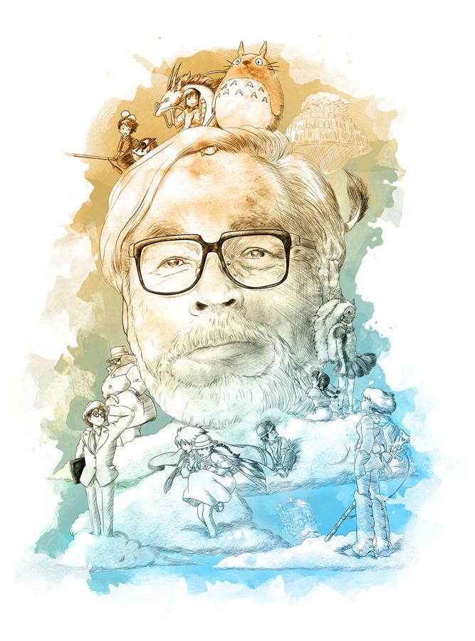 Hayao Miyazaki plant in 3-4 Jahren einen neuen Anime Filme - Uns erwar