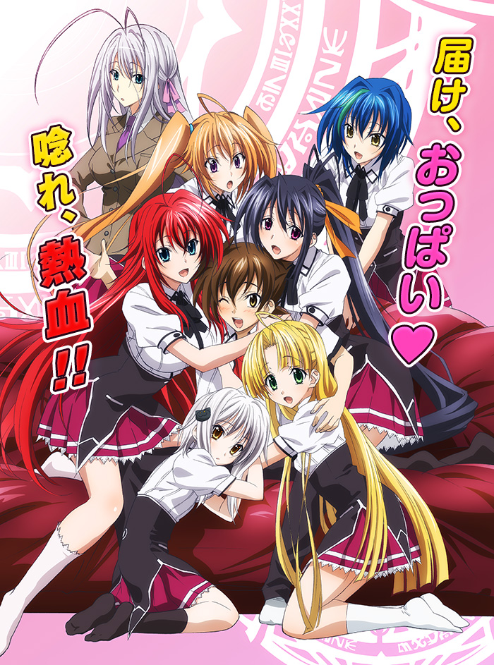 Dämonen-Damen in Triple-D - HighSchool DxD BorN! ab dem 30. September