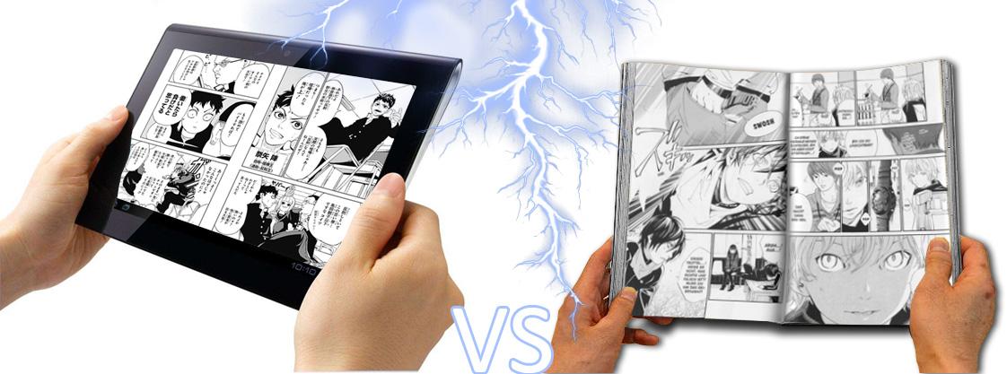 Manga Digital VS Manga Gedruckt! Was ist euer Favorit?