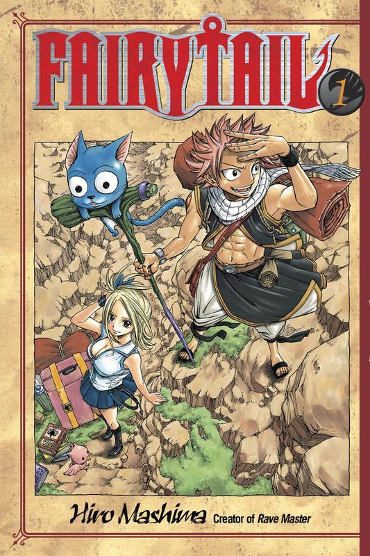 Neue Mangas wie Fairy Tail oder Apsomiz auf Crunchyroll