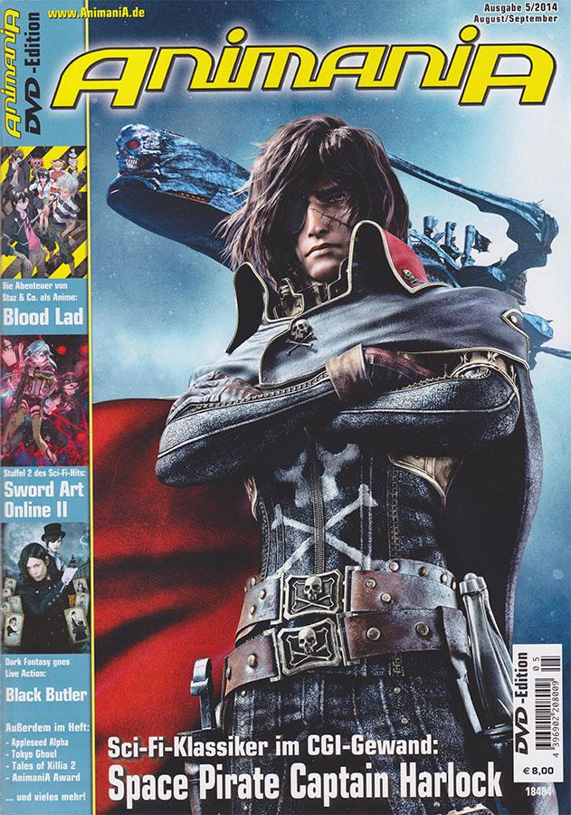 Die AnimaniA Ausgabe 08-09/2014 ist erhältlich
