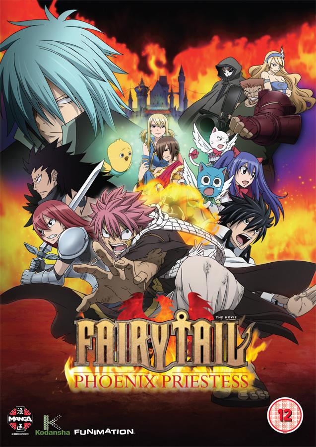 Der erste Fairy Tail Film Fairy Tail: Phoenix Priestess erscheint am 1