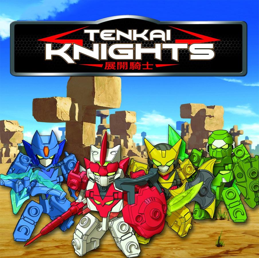 Die kanadisch-japanische Anime Serie Tenkai Knights noch heuer auf Pro