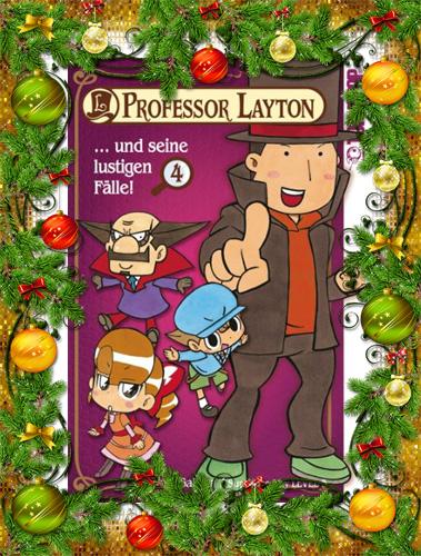 Professor Layton und seine lustigen Fälle!, Band 4