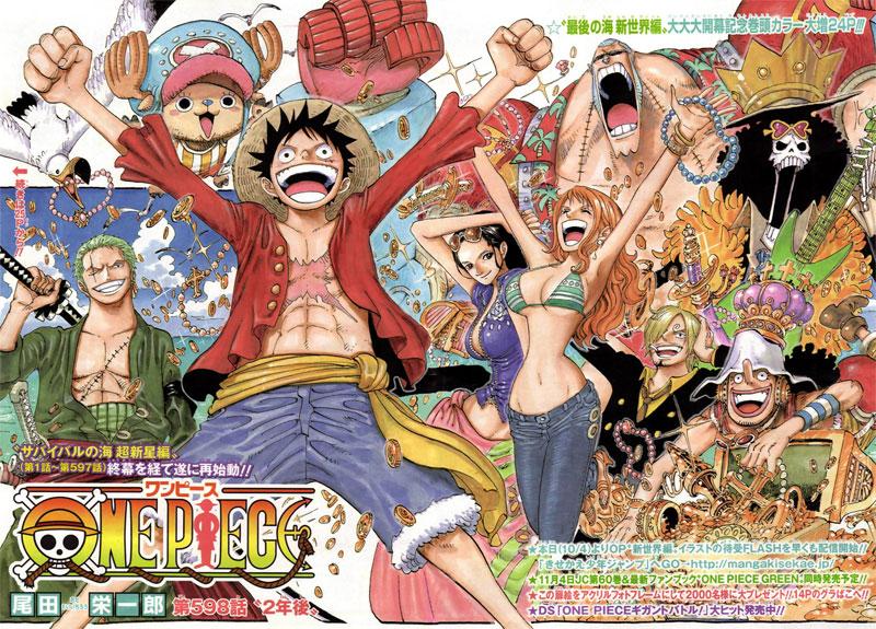 One Piece bald auf allen Covers von Shueishas Magazinen *Update*
