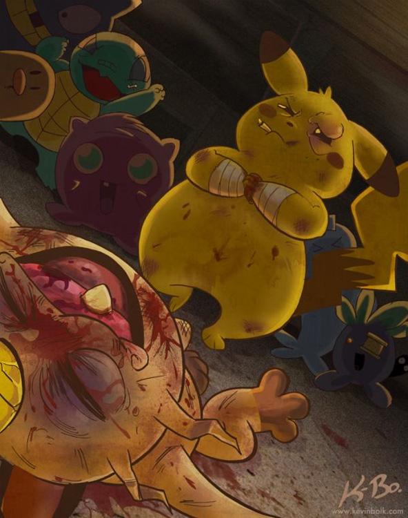 Animierte Videos aus der Sicht von Pikachu, Link, Sonic, Bomberman und