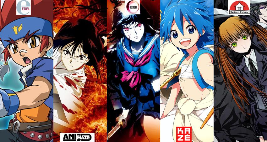 Oktober 2013: Anime Monatsübersicht von Edel, Animaze, Mad Dimension,