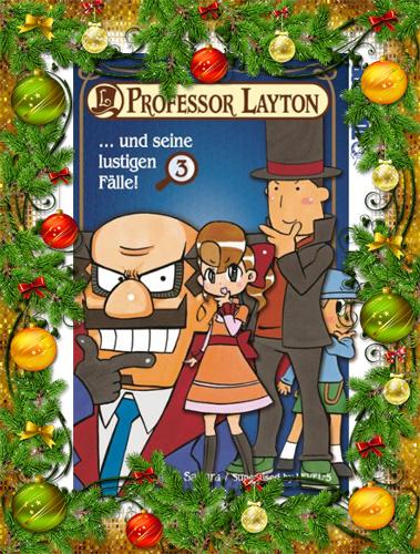 Professor Layton und seine lustigen Fälle!, Band 3
