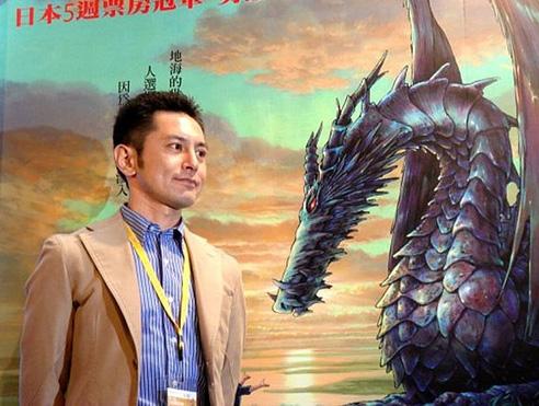 Studio Ghibli Regisseur Goro Miyazaki (von Die Chroniken von Erdsee) a
