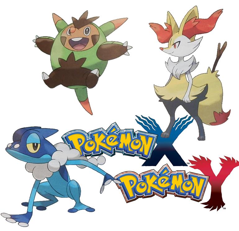 Die zweite Stufe der drei neuen Starter-Pokémon aus Pokémon X/Y sind