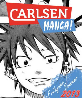 Carlsen - Das Manga Programm für Frühjahr/Sommer 2013