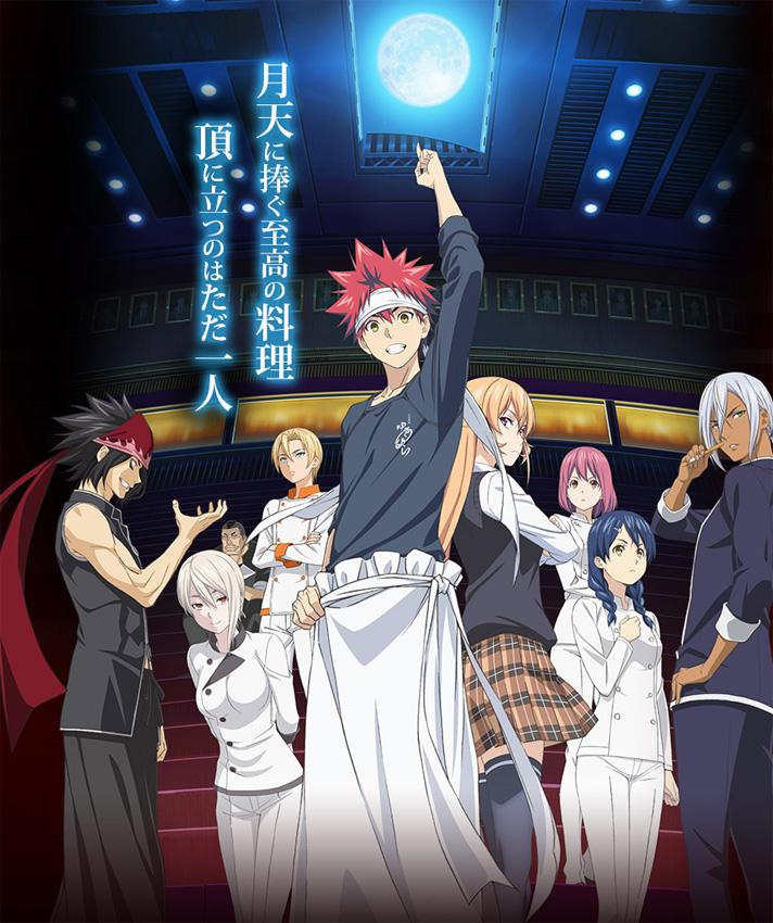 Anime TV-Serie zu Shokugeki no Soma geht in die nächste Runde
