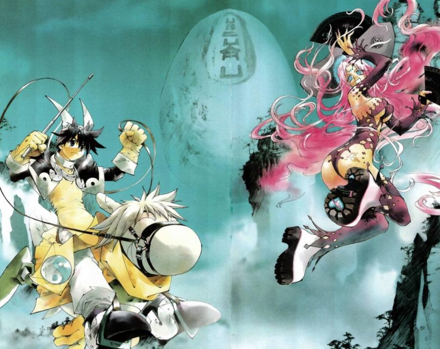 Neuer Manga Relaunch von Ryu Fujisakis Fantasy-Reihe Hoshin Engi