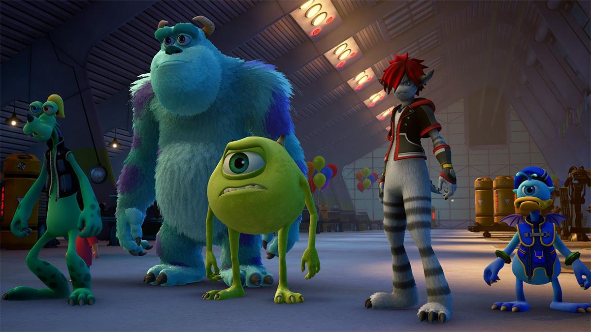 Kingdom Hearts III: Die Monster AG als neue Spielwelt enthüllt