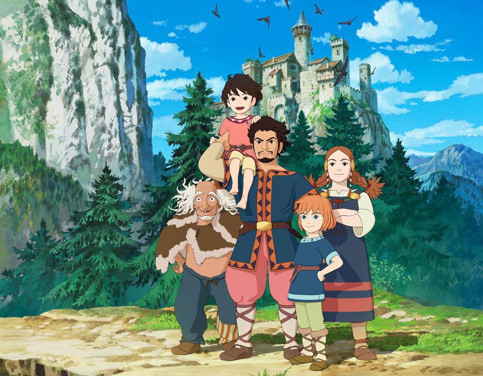 Die CGI Anime TV-Serie Ronja Räubertochter (Sanzoku no Musume Ronja)