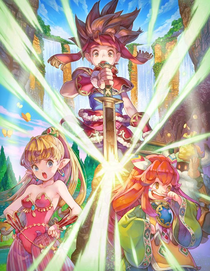 Secret of Mana: Disc-Version ab sofort vorbestellbar - Das Spiel ersch