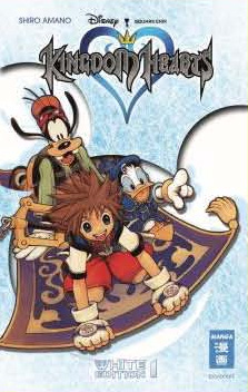 Kingdom Hearts White Edition