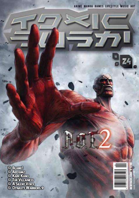 Toxic Sushi Ausgabe 24 ab sofort erhältlich