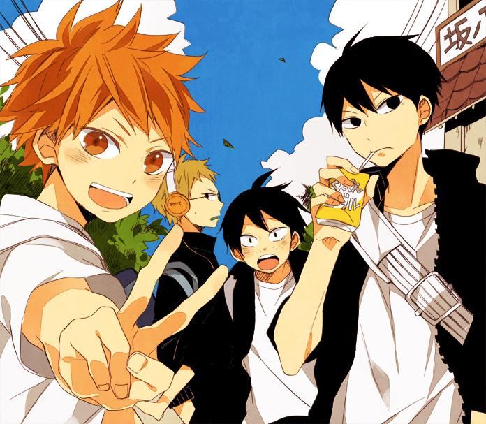 Zur Volleyball Serie Haikyuu!! gibt es nächstes Jahr eine Anime Adapt
