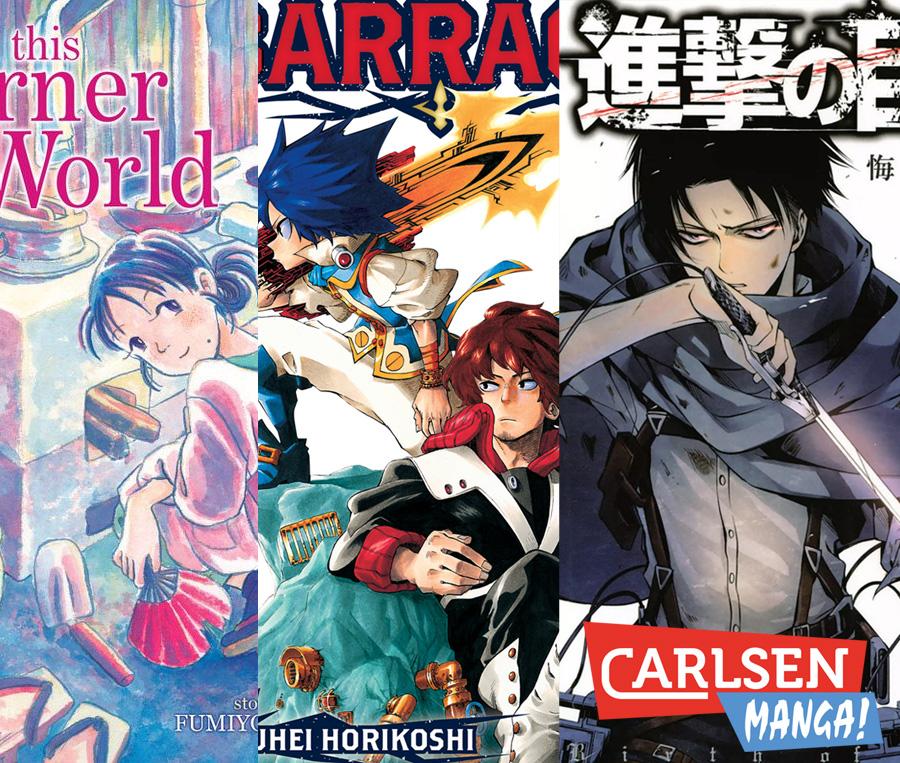 Carlsen Manga! mit neuen Mangas im Frühjahr/Sommer 2018 *Update*