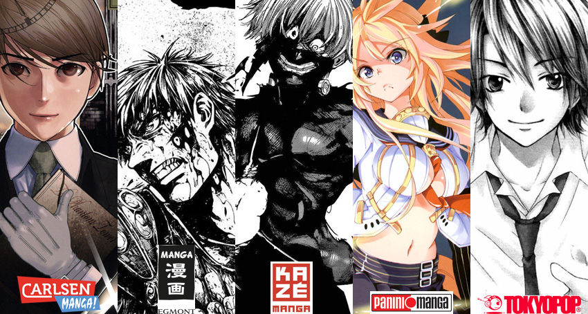 Juli 2015: Manga Monatsübersicht