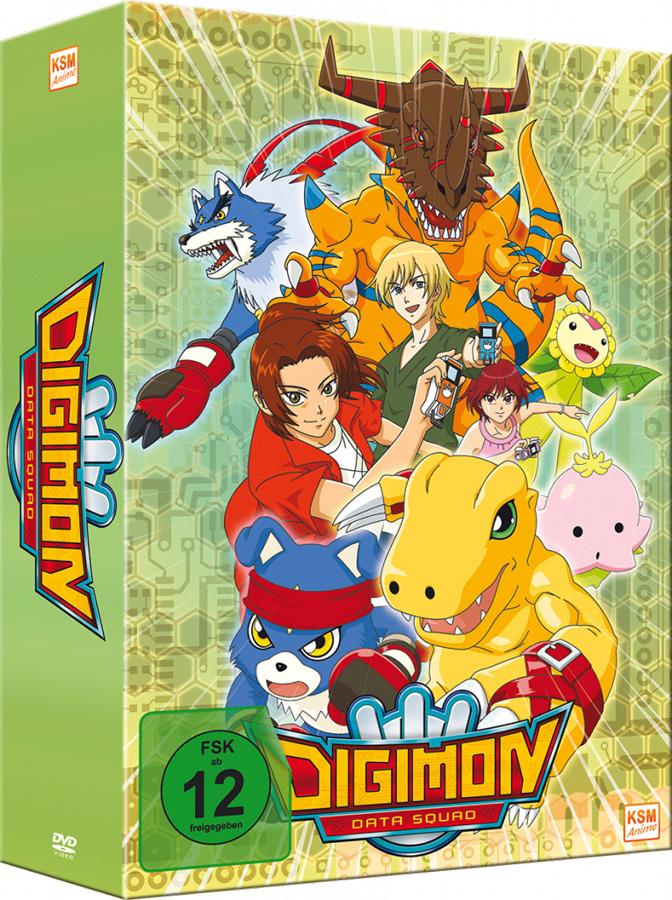 Erstes Volume zu Digimon Data Squad ab September 2018 im Handel erhäl