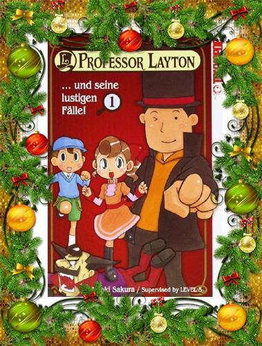 Professor Layton und seine lustigen Fälle!, Band 1