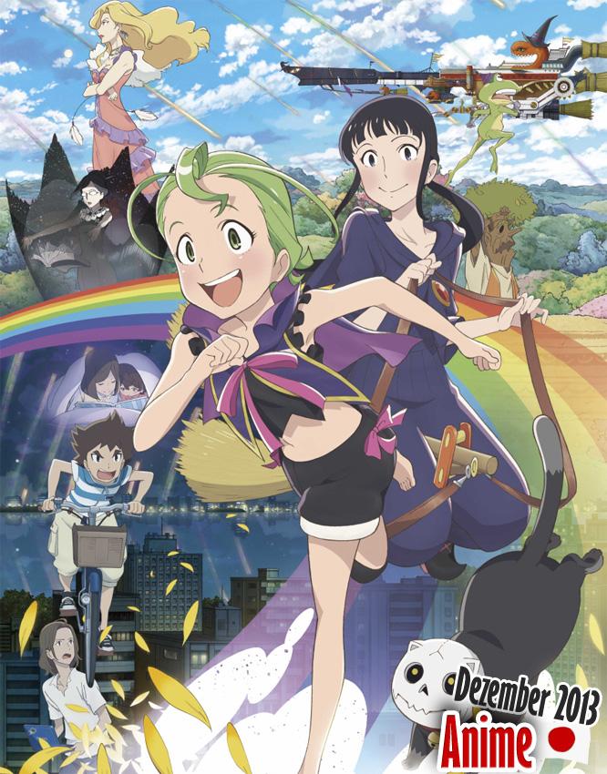 Dezember 2013: Anime Neuerscheinungen aus Japan