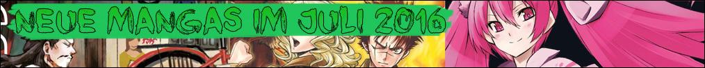 Neue Mangas im Juli 2016