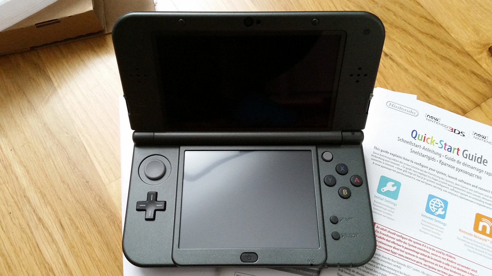 Review New 3 Ds Xl Metallic Black Nintendo