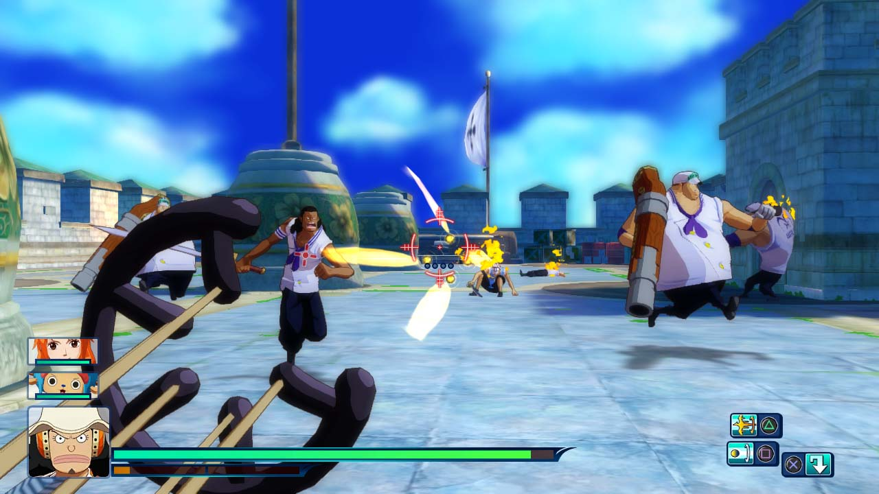 One Piece Unlimited World Red