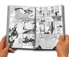 Manga Gedruckt